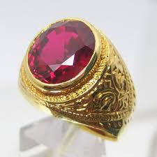mens rings ruby images Beauty and fashion mens wedding gold rings ruby jpg