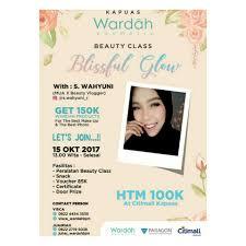 Wardah Okt beautyclassbanjarmasin hash tags deskgram