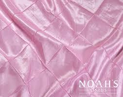 renting linens noah s linens pink 065 pintuck linens