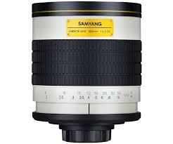 samyang 500mm mirror f6 3 t mount manual focus lens amazon co uk