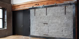 Install Sliding Barn Door by Flat Track Modern Barn Door Hardware Axel By Krownlab