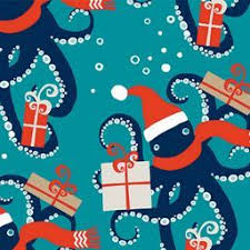 octopus wrapping paper 33 best paper source branded christmas papers images on