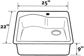 Sink Size Kitchen What Is The Ideal Depth For A Kitchen Sink Quora