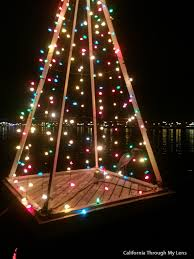 christmas trees and lights hydro bikes in long beach for christmas lights california