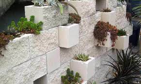 inspirations brick retaining wall home depot cinder blocks