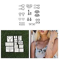 amazon com tattify best friend temporary tattoos soul sister