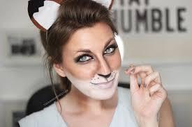 fox costume makeup ideas mugeek vidalondon