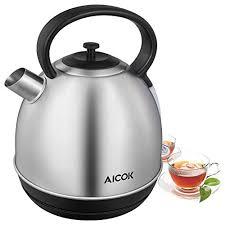 cuisiner avec une bouilloire aicok bouilloire électriques 2200w ébullition rapid bouilloire en