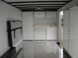 V Nose Enclosed Trailer Cabinets by Cabinets Appealing Enclosed Trailer Cabinets Design How To Build