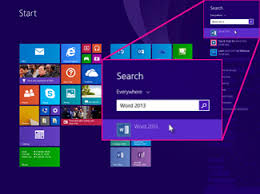 Windows Search Box - can u0027t find office applications in windows 10 windows 8 or