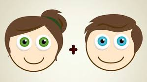the eye colour combinations your baby could have based on you and