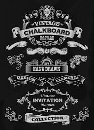 vintage black vintage black and white labels with ornaments vector 04 vector