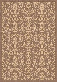 10x10 Outdoor Rug Dynamic Rugs Piazza Collection Brown Area Rug Contemporary