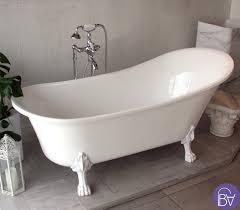 foto vasche da bagno vasca da bagno con piedini stile retr祺 con piedini bianchi
