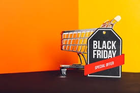 best blurry black friday deals colorful black friday background vector free download