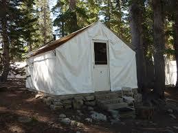 Tent Building Yosemite High Sierra Camps U2014 Heritage Architecture Studio Llc
