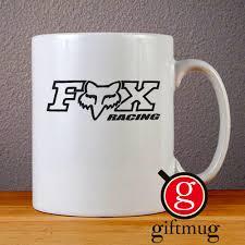 fox racing logo ceramic coffee mugs u2013 giftmug