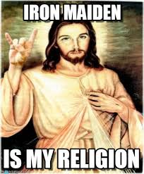 Iron Maiden Memes - iron maiden metal jesus meme on memegen