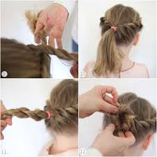 Easy Simple Hairstyles For Medium Hair by Simple Hairstyle With Curly Hair Step By Step 4 Easy Lazy