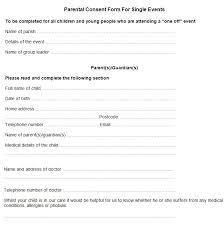 authorization letter for grandparent sample parental consent form free u0026 premium templates
