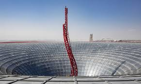 ferrari world turbo track coaster launches at ferrari world abu dhabi blooloop