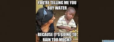 3rd World Kid Meme - skeptical third world kid buying water facebook cover timeline photo