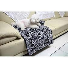 protection canapé tapis de protection pour fauteuil canapé lovely bouledogue