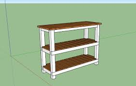 Kitchen Island Chopping Block Diy Butcher Block Kitchen Island 7 Steps With Pictures