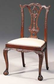 Chippendale Chair by Carved Mahogany Chippendale Style Chair Foter