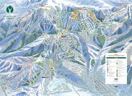 Big Sky Trail Map Deer Valley Ski Resort Map Weather U0026 Information Ski Utah