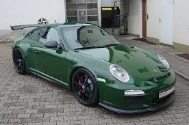 porsche british racing green spotlight british racing green porsche 997 gt3 rs