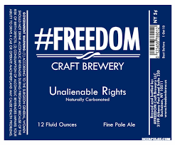 FREEDOM Unalienable Rights Pale Ale | BeerPulse