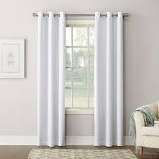 Gray And White Blackout Curtains Blackout Curtains Walmart