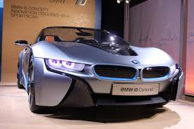 bmw concept i8 bmw i8 and i3 electric car concepts business insider