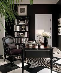 ralph lauren black decorating office ideas zebra print rug home