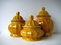 yellow kitchen canisters pretty kitchen canister sets made by ceramic extravagant and