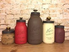 red canisters ebay