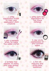 gyaru eye makeup tutorial cute gyarus favor deep big blue eyes so before you create your own gyaru look have some gyaru s favorite blue big eye circle