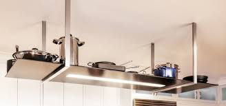 kitchen island hanging pot racks good pot rack with lights homesfeed