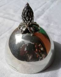 antique sterling silver bell pineapple by co usa