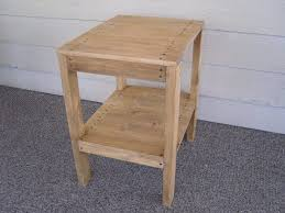 rustic wedge end table end tables diy plans make end table set indoor outdoor wingstoshop