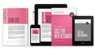 Ebook Layout Inspiration | ebook sass for web designers epublishing layout design inspiration