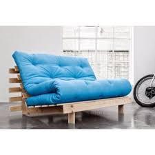 canap futon pas cher inside 75 canapé bz style scandinave roots futon bleu azur