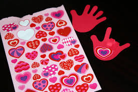 i love you hand valentine u0027s day craft
