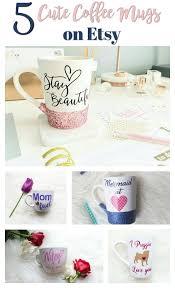 5 cute coffee mugs found on etsy