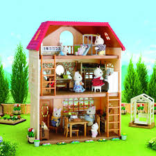 cedar terrace 3 story house sylvanian toys and hobbies teen