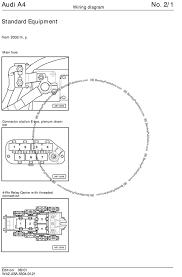 audi a4 door wiring diagram audi wiring diagrams instruction