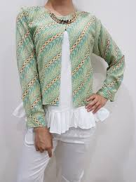 Baju Batik Batik baju batik wanita atasan batik wanita blouse batik batik