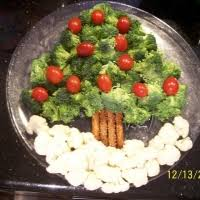 tree veggie platter recipe