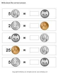 46 best money worksheets k 1st grade images on pinterest money